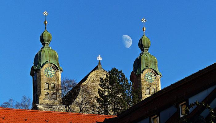 Mond über Landsberg
