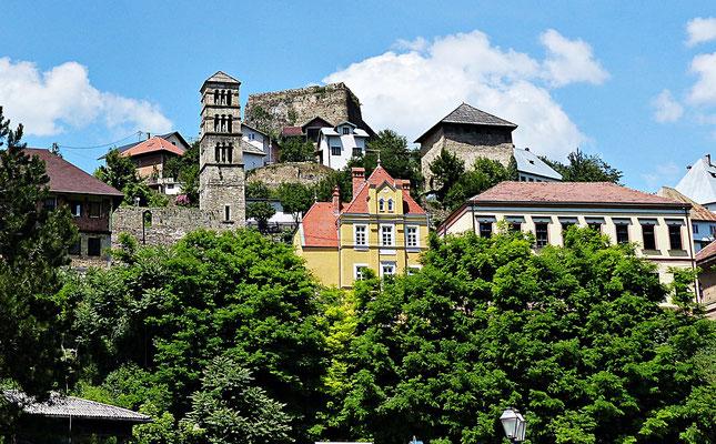 Die Burg von Jaice