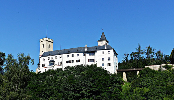 Die Burg Rožmberk