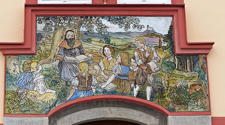 Lüftlmalerei in Tschechien