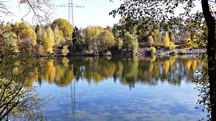 Beim Lech im Herbst