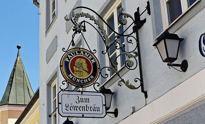 Nasenschild in Wolfratshausen