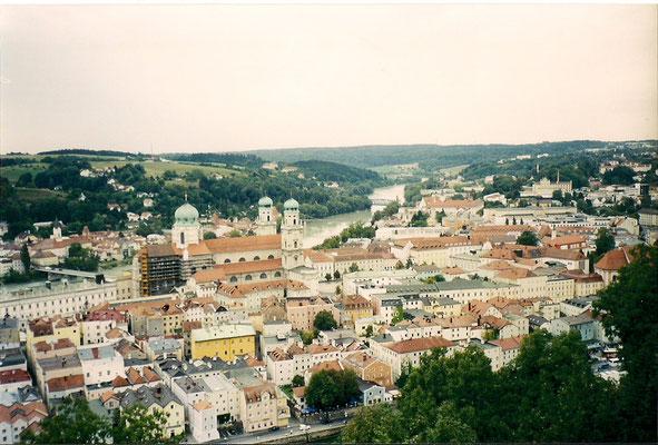 Alte gescannte Bilder von Passau