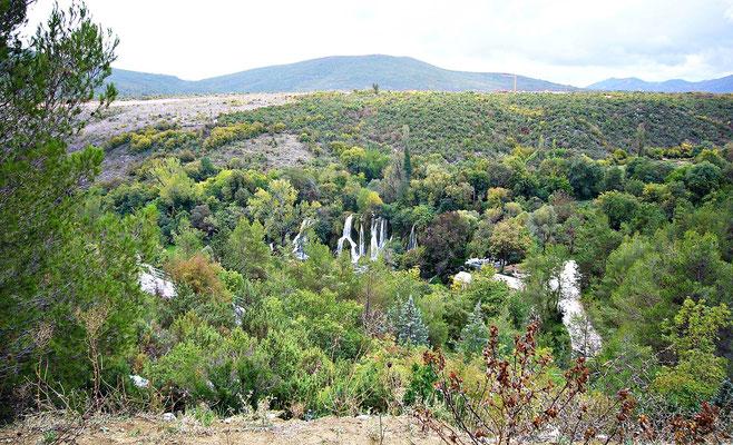 Die Kravica Wasserfälle