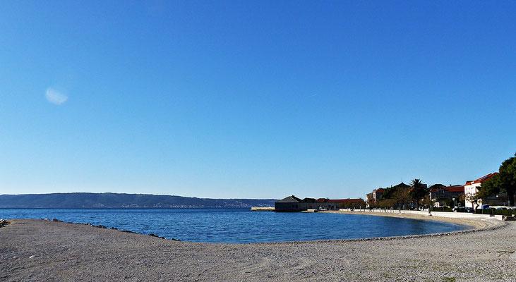 Spaziergang am Meer entlang
