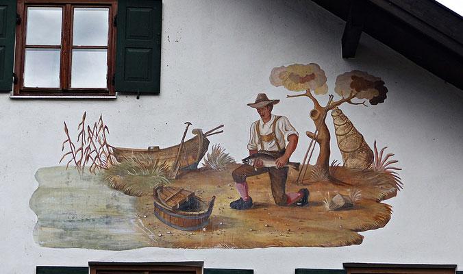 Lüftelmalerei in Münsing