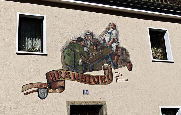 Lüftelmalerei in der Oberpfalz