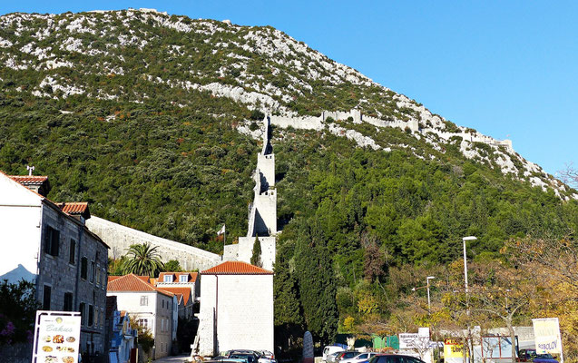 Die Mauer von Veliki Ston