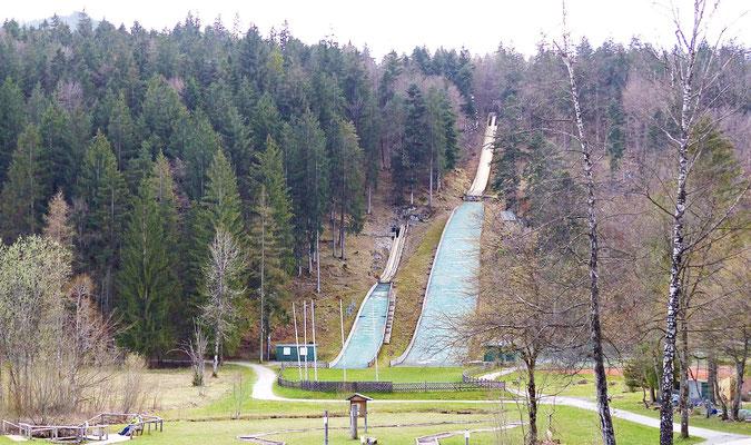 Die Skischanzen von Füssen