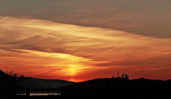 Sonnenaufgang in Kastel Stafilic