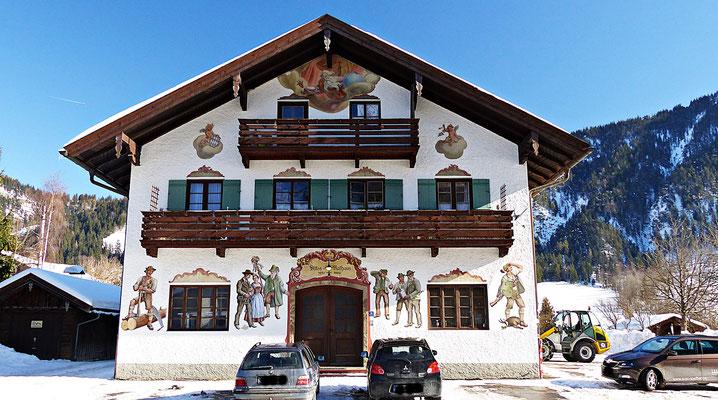 Das alte Rathaus von Bayrischzell