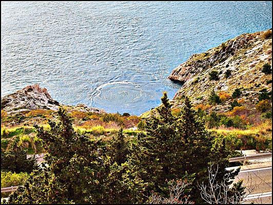 Unterirdischer Einlauf der Cetina in die Adria