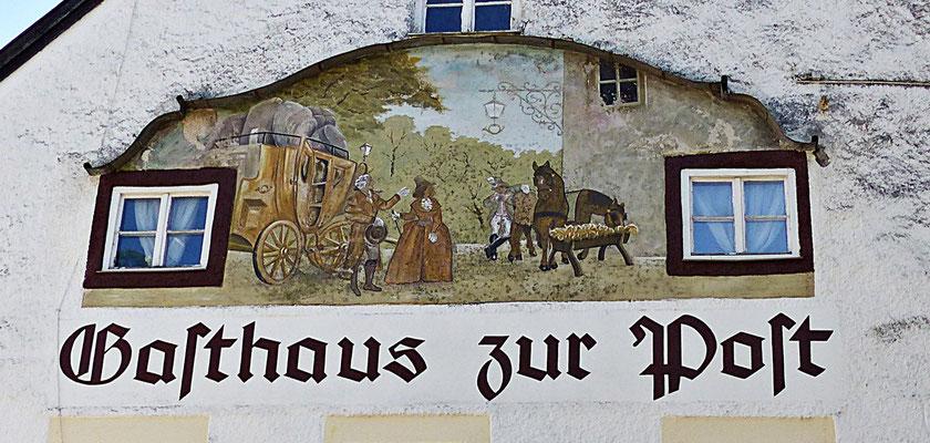 Lüftlmalerei in Bayern