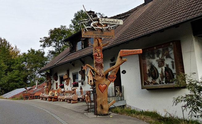 Holzschnitzkunst im Allgäu