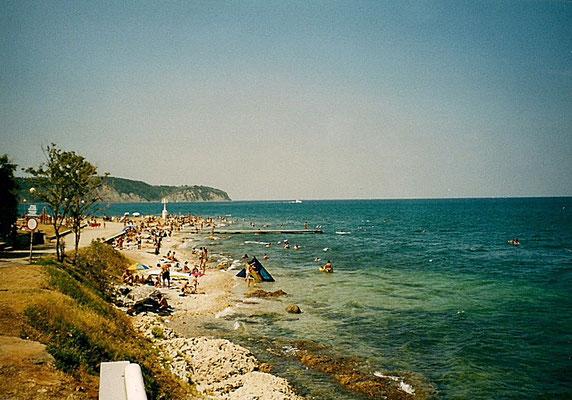 Strand in Izola