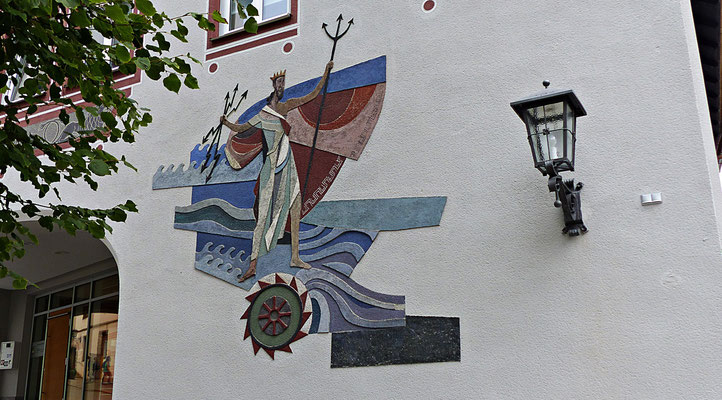 Lüftlmalerei in Füssen im Allgäu