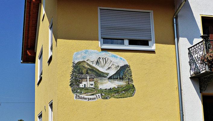 Lüftlmalerei in Großaitingen