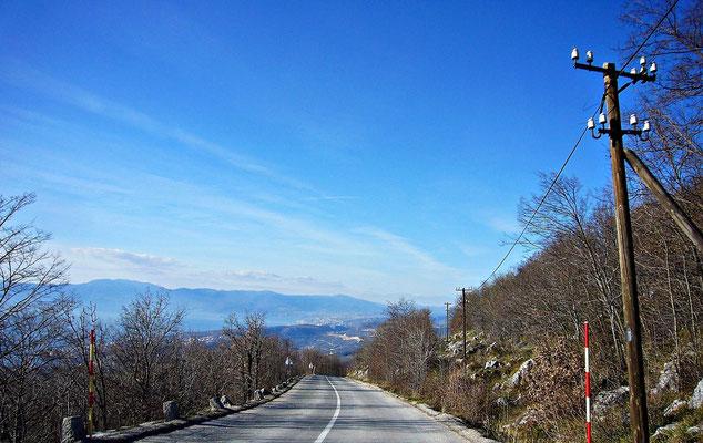 Blick auf die Bucht von Rijeka