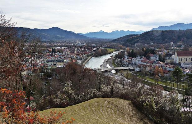 Die Aussicht vom Kalvarienberg