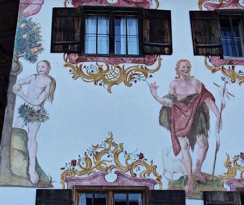 Lüftlmalerei aus Miesbach