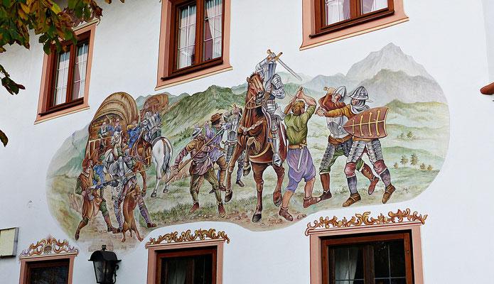 Lüftelmalerei in Bernau