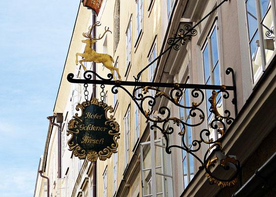 Nasenschild in Salzburg