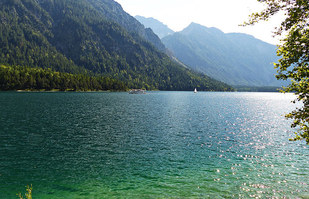 Der Plansee im September 2016