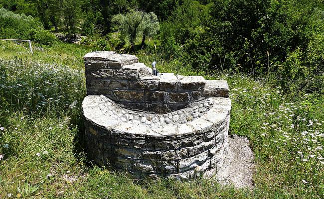 Brunnen bei der Quelle der Cetina