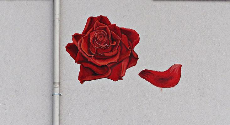 Wandbild in Königsbrunn