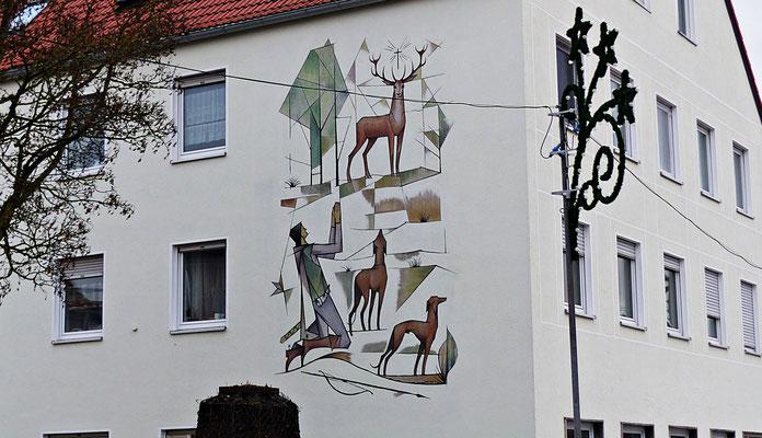 Lüftelmalerei in Bobingen