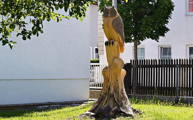 Holzschnitzerei in Untermeitingen