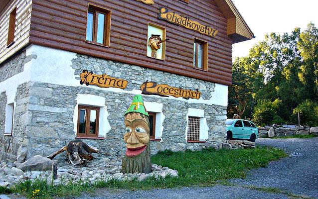 Holzschnitzerei in Tschechien