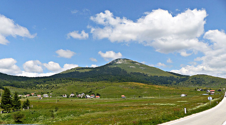 Landschaft beim Buško Jezero