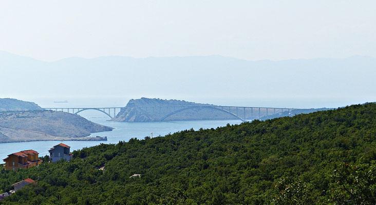Die Brücke von Krk