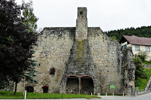 Alte Mauer in Dvor