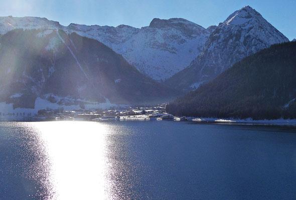 Der Achensee im Winter