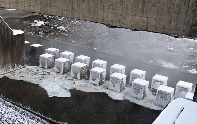 Der gefrorene Hochablass