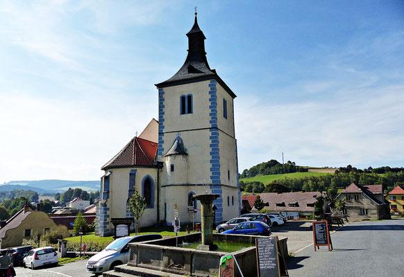 Die Kirche von Velhartice