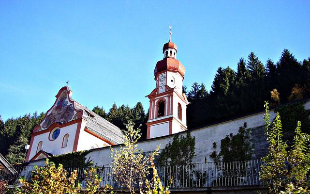Kirche von Gries im Sellrain