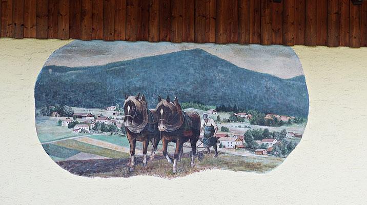 Lüftlmalerei im Bayerischen Wald