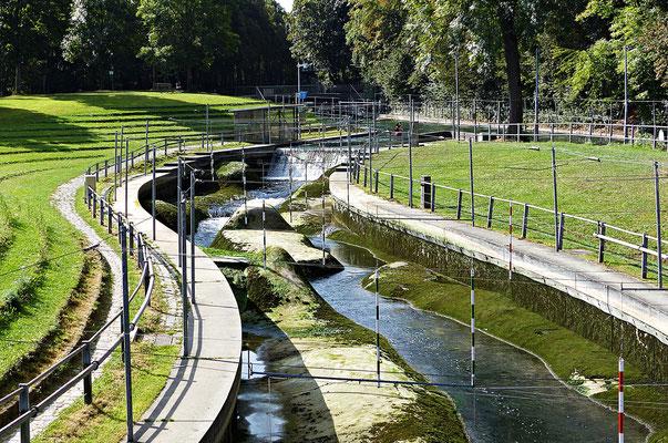 Der Wasserkanal der Profis