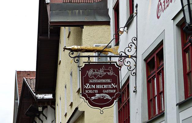 Nasenschild in Füssen