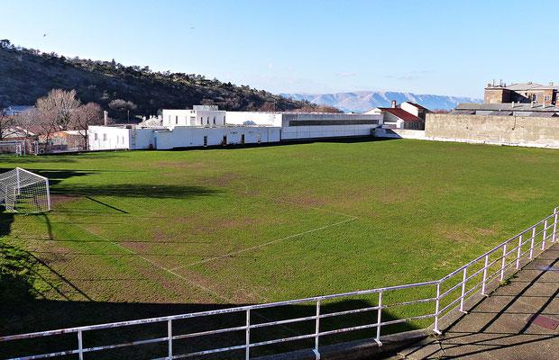 Der Fußballplatz von Senj