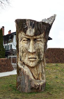 Holzschnitzerei in Bad Wiessee