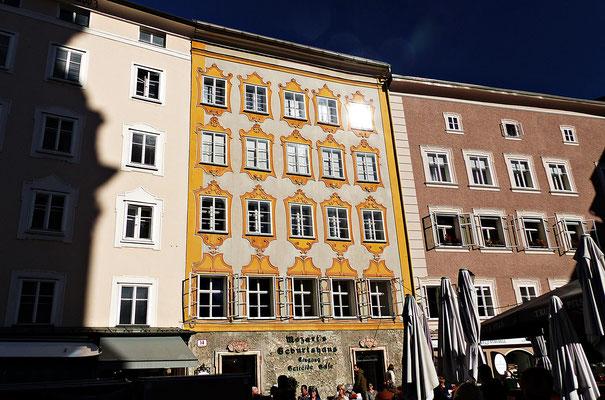 Das Geburtshaus Mozarts