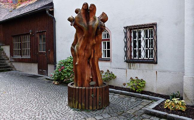 Holzschnitzerei in Salzburg