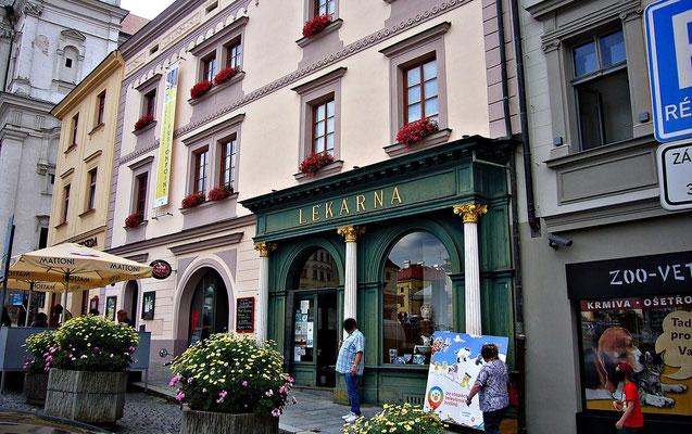 Ehemalige Apotheke zum letzten Einhorn, heute ein Museum