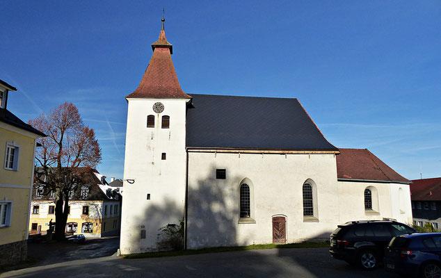 Kirche in Hartmanice