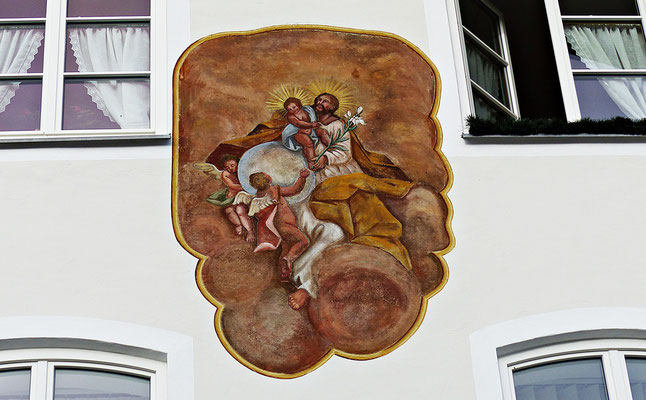 Lüftelmalerei in Bad Tölz