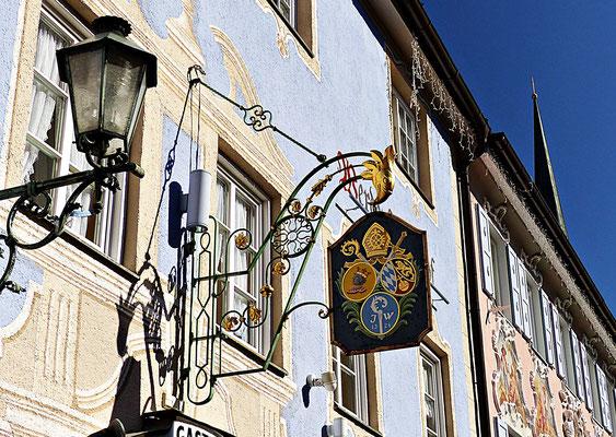 Nasenschild in Partenkirchen
